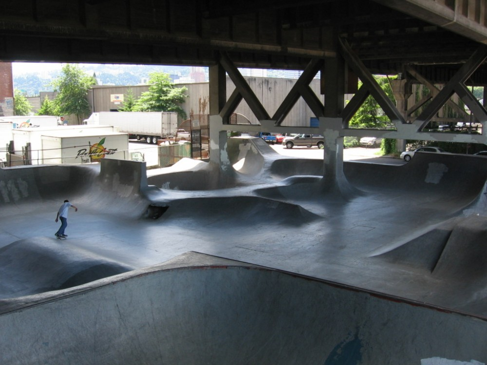 Burnside Skatepark ©straightedge, vía Flickr.