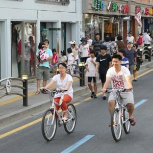 Barrio Haenggung-dong, Suwon. Fuente Imagen ITDP.
