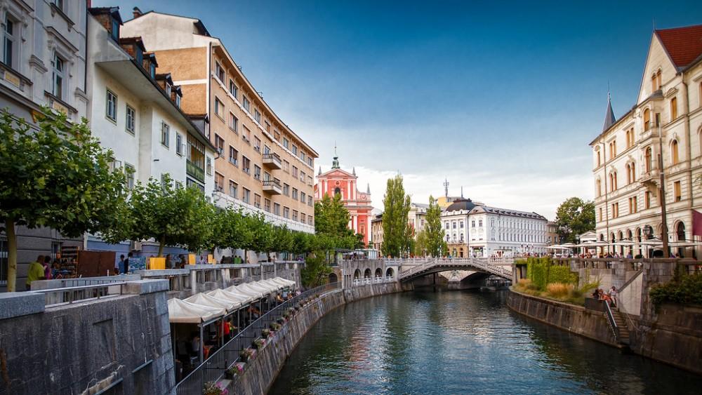 Liubliana, Eslovenia. Capital Verde Europea 2016 © xeno_sapien, vía Flickr.