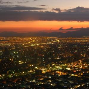 Santiago de Chile. Imagen vía Flickr (© Gabrielito~).