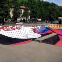 Skatepark Sundial en Lugano, Suiza. Fuente: Zuk Club (Facebook).