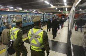 Retraso en el Metro de Santiago