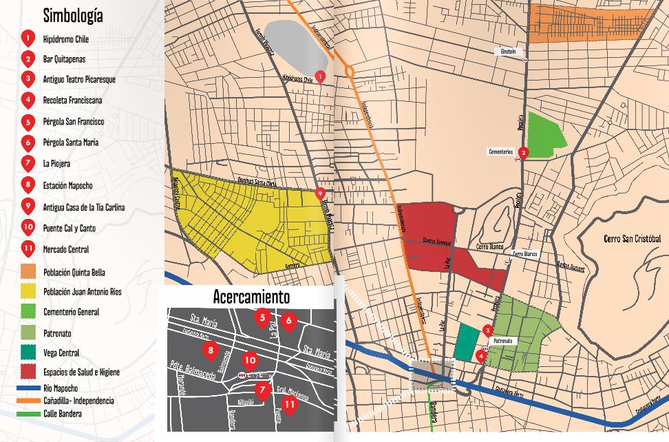 Plano Atlas Popular de La Chimba