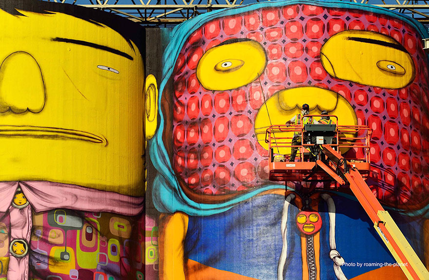 Giants Os Gemeos Vancouver Biennale 2014_8