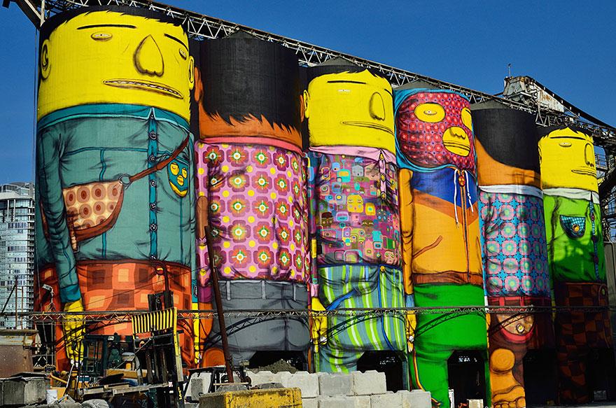 Giants Os Gemeos Vancouver Biennale 2014_9