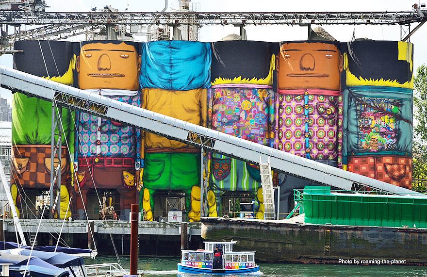 Giants Os Gemeos Vancouver Biennale 2014_11