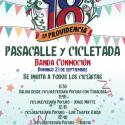 18 en Providencia: Pasacalle y cicletada por la CicloRecreoVía de Pocuro