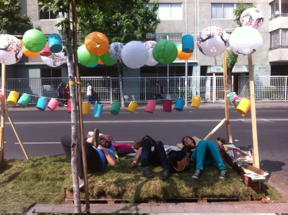 Park(ing) Day Chile