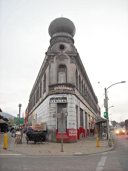 Edificio El Marsano, Temuco. © 3BRBS, vía Wikimedia Commons.