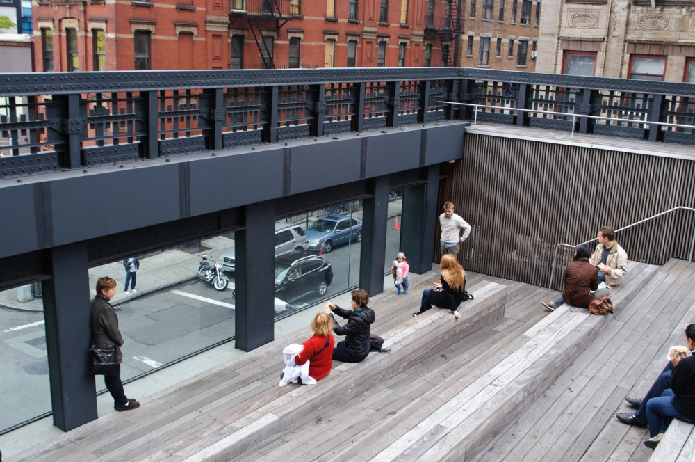 High Line Nueva York Distrito Chelsea © skinnylawyer Flickr