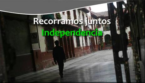 Recorrido Independencia