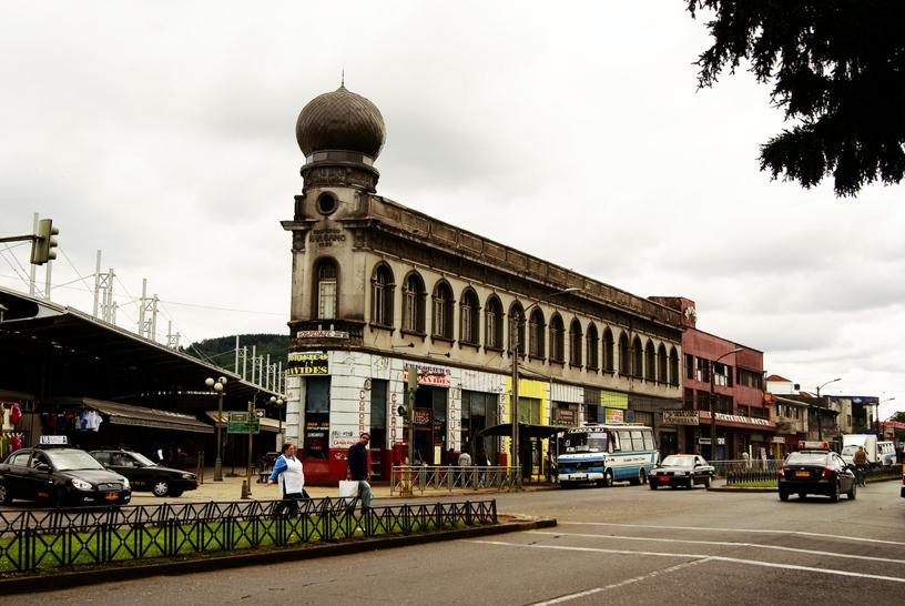 Barrio Estación y Feria Pinto de Temuco. © Kepanuk, vía Flickr.