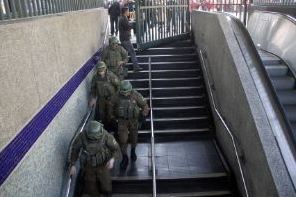 evacuaciones Metro de Santiago