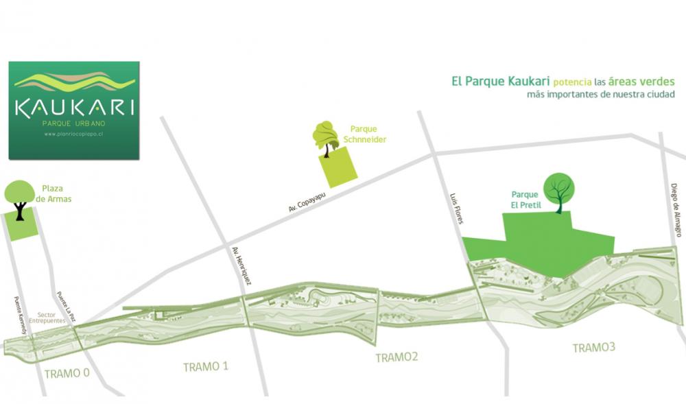 Parque Kaukari Copiapó Áreas Verdes