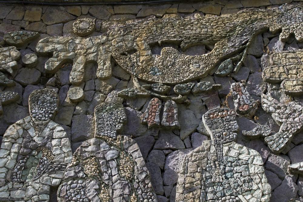 Mural Tupahue Juan O'Golman María Martner Parque Metropolitano de Santiago © Andrea Manuschevic para Plataforma Urbana 4