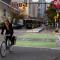 Nueva York Pistas protegidas para bicicletas