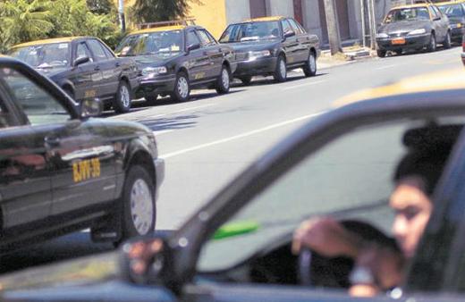taxis en Santiago