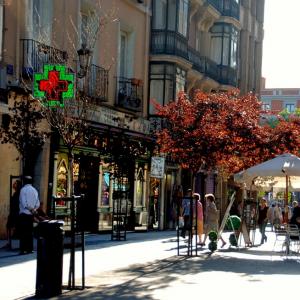 Barrio Las Letras, Madrid. © druidabruxux, vía Flickr