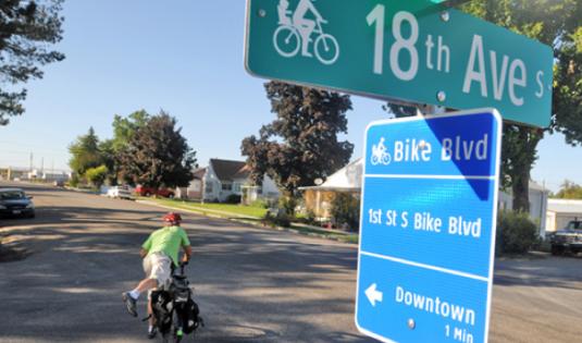NACTO Guia de Diseño Urbano de Ciclovias Boulevards para bicicletas
