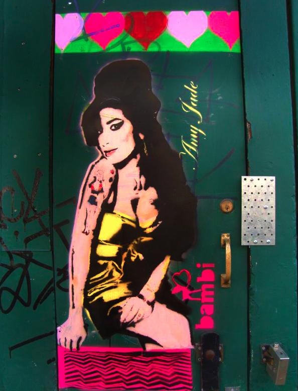 """Amy Winehouse"" de Bambi."