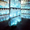 Laberinto de residuos plasticos luzinterruptus 9