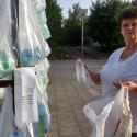 Laberinto de residuos plasticos luzinterruptus 24