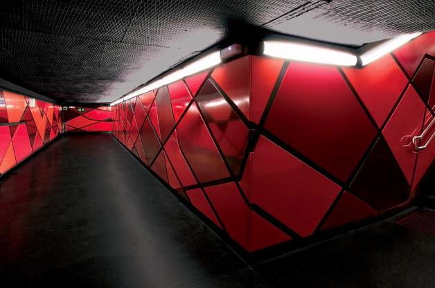 Estación de metro Drassanes Barcelona