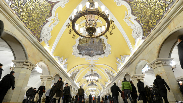 Estación Komsomólskaya.