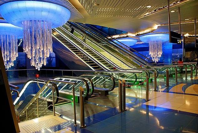Estación Burjuman Dubai