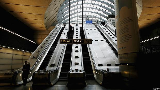 Estación Canary Wharf