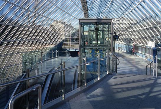 Estación St. Quirin-Platz.