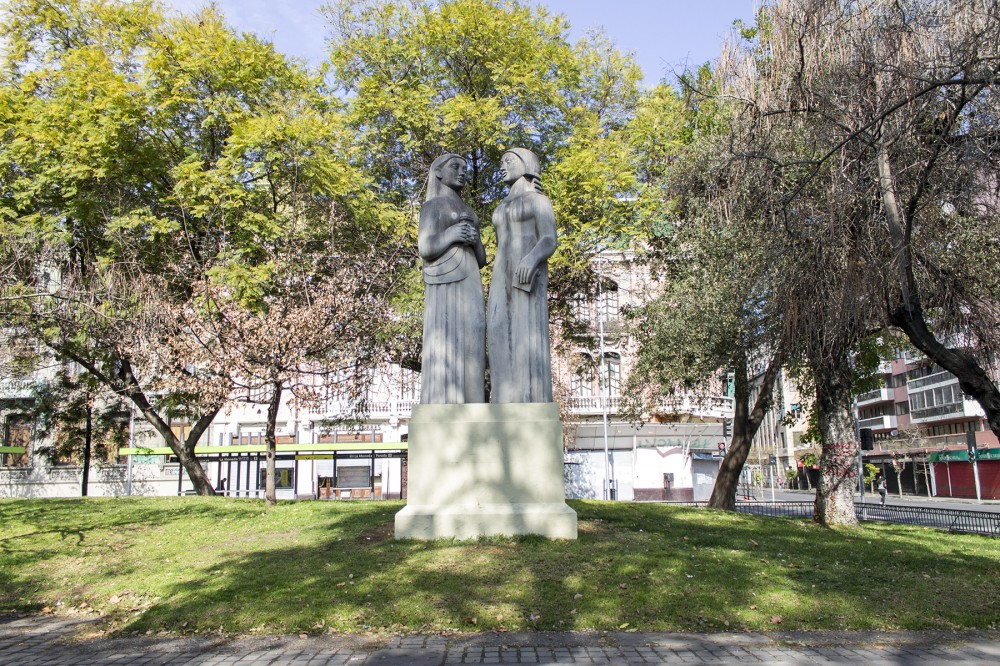 Las Educadoras Samuel Roman Rojas Bandejon Alameda Santiago 1