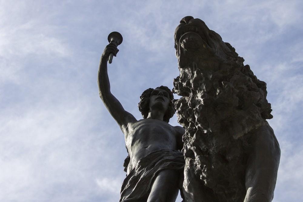 Genio de la Libertad de Roberto Negri © Andrea Manuschevich para Plataforma Urbana 2