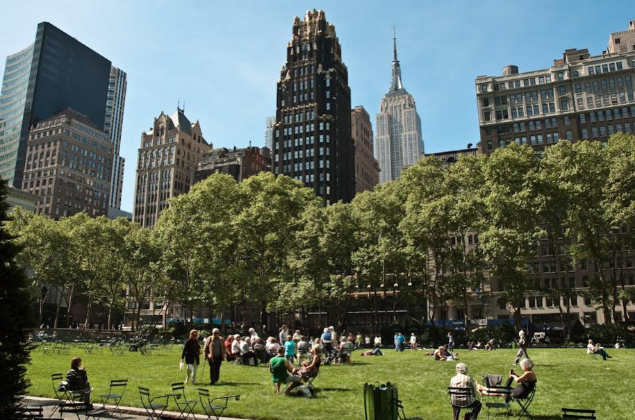 Parque Bryant en Nueva York. © cerfon, vía Flickr.