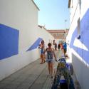 Azul sobre Blanco Boa Mistura 8