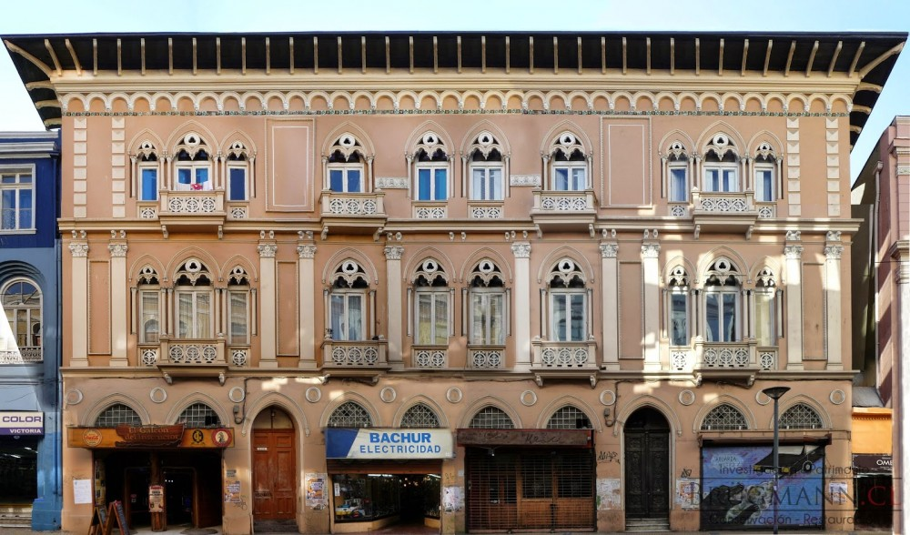 Palacio Rivera fachada