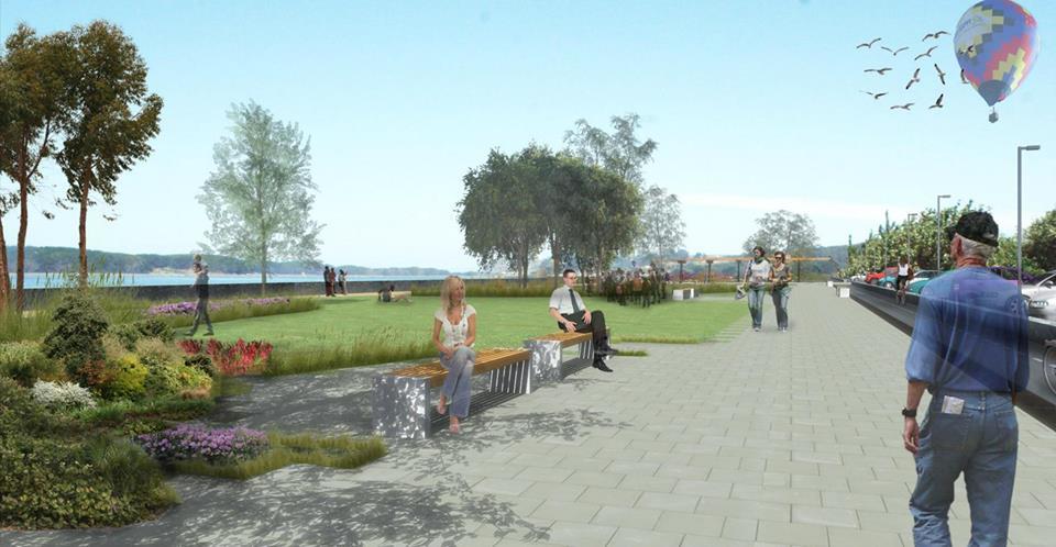 Parque Costanera Saavedra. Fuente: Municipalidad de Puerto Saavedra.
