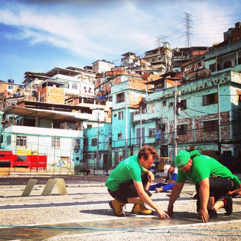 Pavegen Morro da Mineira Rio de Janeiro 3