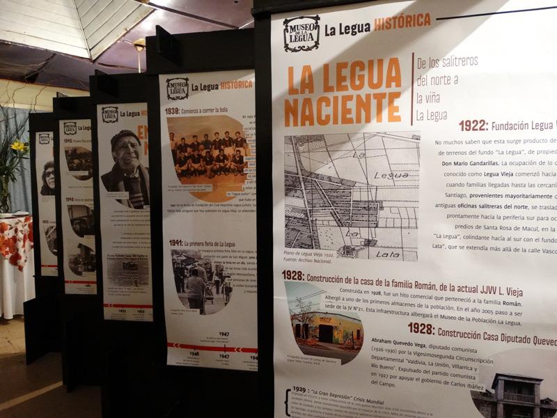 Museo de La Legua. Fuente imagen: Red San Joaquin.