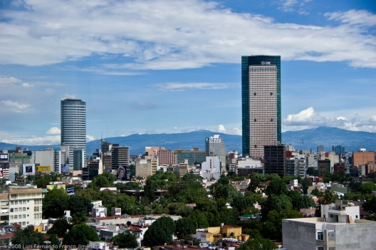 Ciudad de México. © luis f franco, vía Flickr.