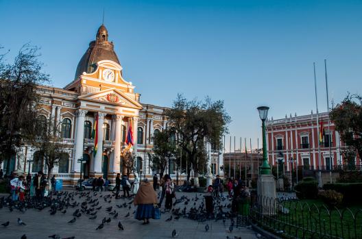 9. La Paz, Bolivia © David Baggins, vía Flickr.