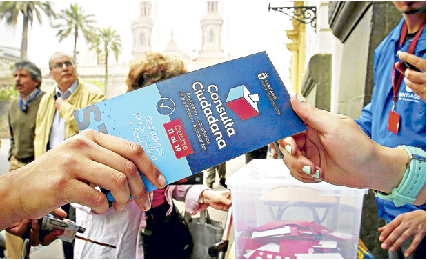 consulta ciudadana La Tercera