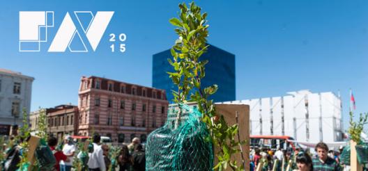 Afiche Festival de las Artes de Valparaíso, FAV 2015