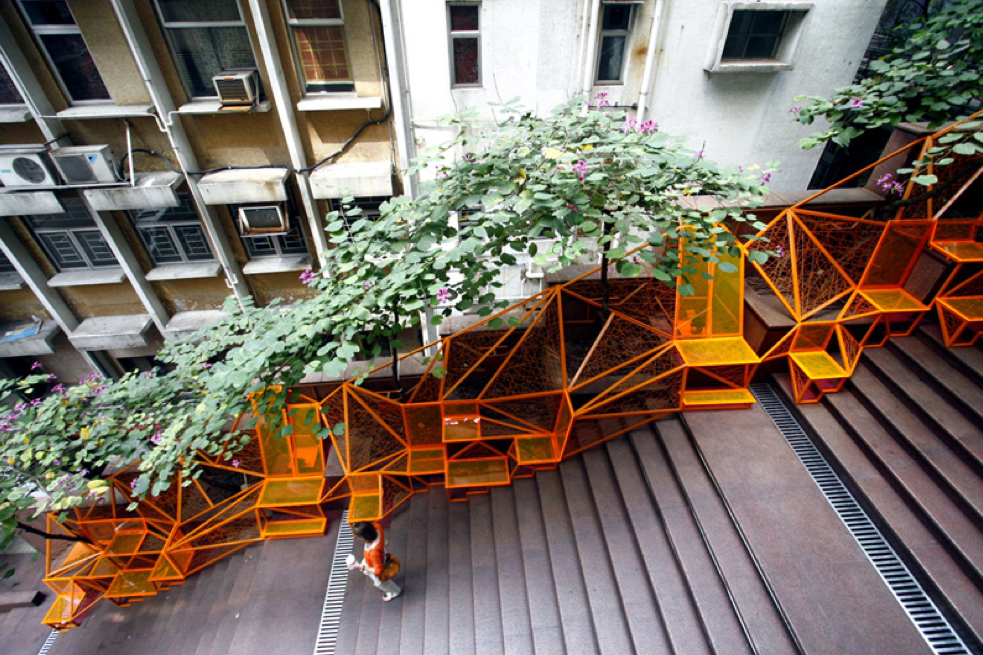 The Cascade. Fuente: Reprogramming the City.
