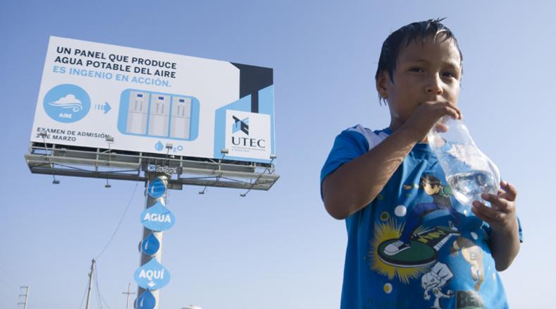 TEC Water Billboard. Fuente: Reprogramming the City.