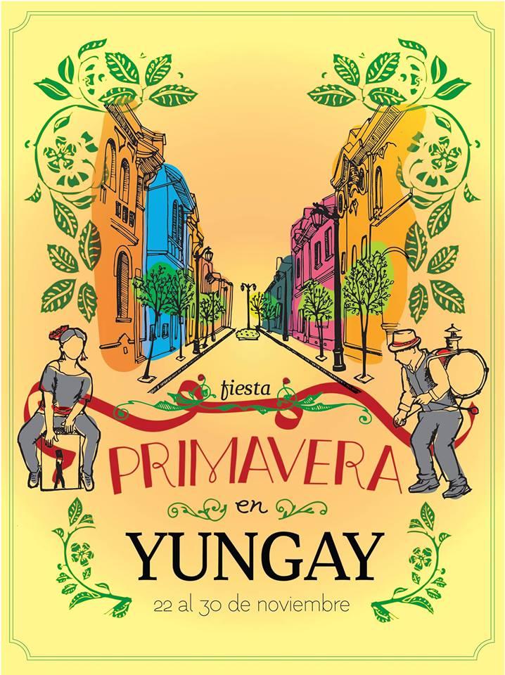 Afiche Fiesta Primavera en Yungay 2014
