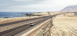 ruta concesionada al aeropuerto de Iquique