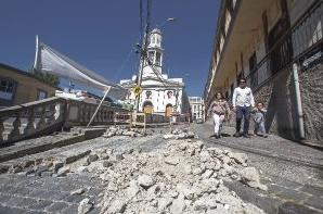 Adoquines en barrio fundacional Valparaíso