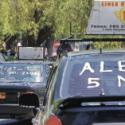 Paro de taxis colectivos