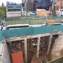 Construcción línea 6 Metro de Santiago